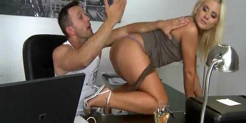 Horny European hotties get into some dirty action