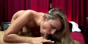 A sexy real dutch hooker giving head