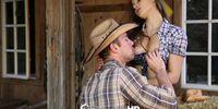 HD - Cowgirl Dani Daniels rides dick at the farm