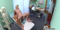 Horny naive patient fucked by big cock doctor