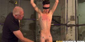 Master Sebastian punishes Jesse Evans
