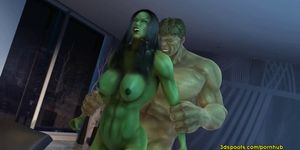 She Hulk He - There is nothing like crazy angry