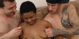 Black teenager gets creampied