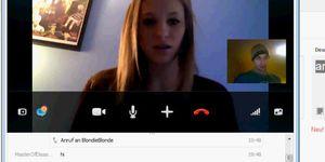 Skype porno teen