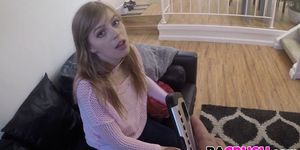 Dolly Leigh Gets Punished By Her Dad