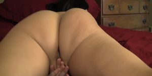 Wife making a Hot Masturbation video