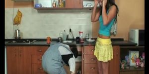 Milf and plumber exept for paying