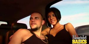 Backseat Blowjobs With Hot Babe Jayden