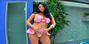 Schoolgirl lesbin fucks naked