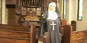 Nun fucked in church