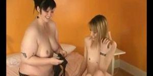 Lesbea pornb orge videoo