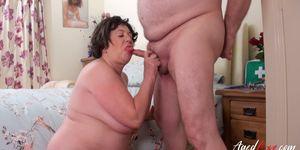 OLD NANNY - AgedLove Busty British Lady Hardcore Sex Adventure