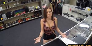 Woman gets drilled by nasty pawn keeper Porn Videos