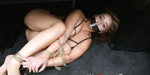 Captured and Tied up Fetish Teen