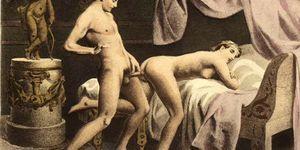 Fotos porno de sexo oral - Vintage retro classical hardcore fucking and oral hardcore sex perversions