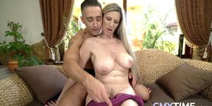 Granny loves a big hard cock in her experienced pussy