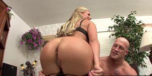 Blonde MILF Phoenix Marie Rides Cock Hard