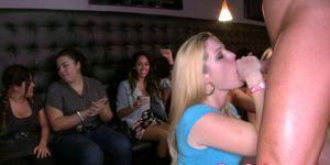 OMG my wife cocksucks stripper at the club