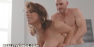 Reality Kings - Big Naturals - Ella Knox Johnny Sins - Obsessed With Breasts