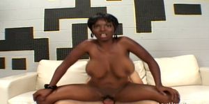 Interracial slamming act and a hot black babe