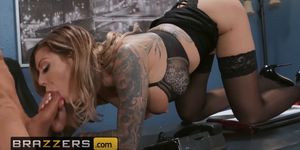 Big Tits at Work - Karma Rx Xander Corvus - The Ho In The Donut