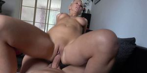 Blonde Wife Cheating her Husband