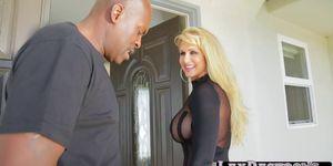 Kagney Lynn Karter and Lexington Steeles intense anal sex