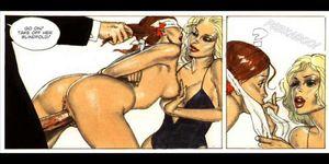 Comics: Erotic This Readhead Sex Comic
