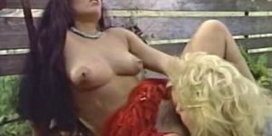 Nina Hartley with brunette