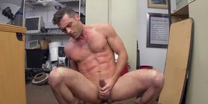White office dude gets ass pounded hard by black dick dude