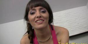 Amateur latina facialized Porn Videos