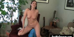 Hot MILF Samantha Humping The Armchair