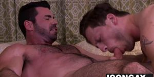 Gay lovers like it rough hard ass fucking and pounding