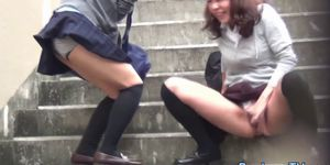 Bizarre japanese sluts urinating