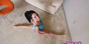 Megan Rains pussy fucks balls deep by a shaved cock Porn Videos