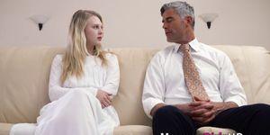 Teen Mormon Blonde Jizzed