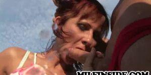Myra - Redhead Euro Mature Public Display Of Sexual Urges Porn Videos