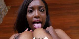 Exotic4K - Danny feels the tropical heat from ebony Daya Knight Porn Videos