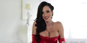 Hot Big Tit Ariella Ferrera Interview Softcore