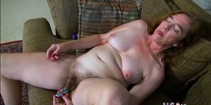 OLD NANNY - USAwives Hot Matures From America In Solo Action