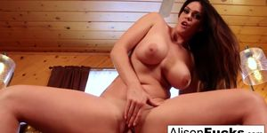 ALISON TYLER OFFICIAL SITE - Statuesque Alison takes on a big French dong