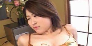 ALL JAPANESE PASS - Kokoro Miyauchi busty has twat and ass fucked with sex toys