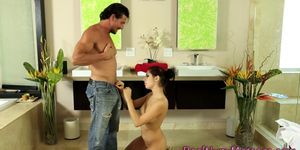 Masseuses pussy plunged