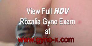 Rozalia anal and gyno exam