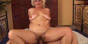 Pussy Fisted Blonde Stepmom Gets Fucked