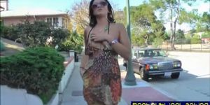 Cece Stone is a public flashing masturbating babe pt. 1