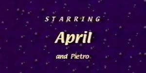 April footjob (April Flowers)