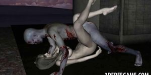 Sexy zombie porn pictures - Sexy 3d cartoon zombie babe getting fucked hard