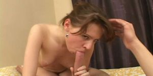 Hot gal nailed in doggy