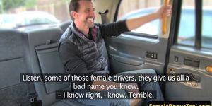 Bigboobed milf rides passengers cock Porn Videos